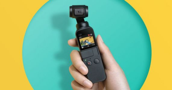 DJI Osmo Pocket: The World's Smallest 3-Axis Stabilized 4K Camera