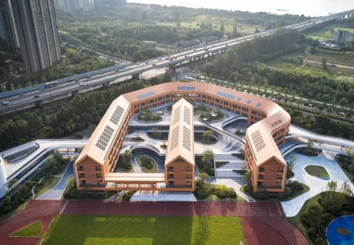Hangzhou Olympic Sports Experimental Primary School and Kindergarten / UAD