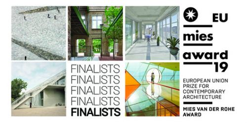 5 Projects Shortlisted for 2019 EU Mies Prize for Contemporary Architecture