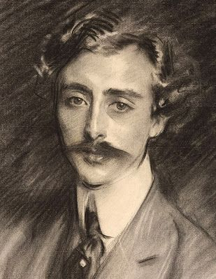 Sitting for a Sargent Charcoal Portrait