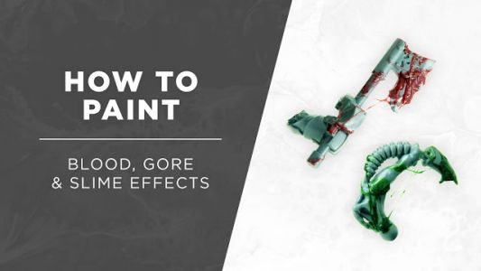 Tutorial: How to Paint Blood, Gore, and Slime Effects by Silvernome