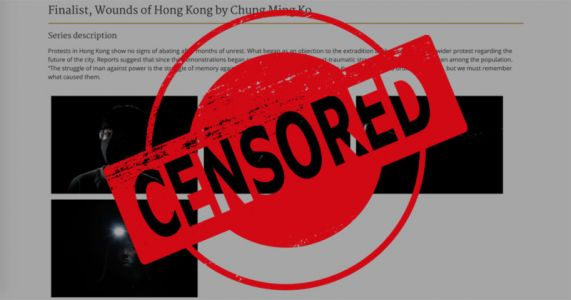 Sony World Photography Awards Accused of Censorship After Pulling Hong Kong Protest Photos