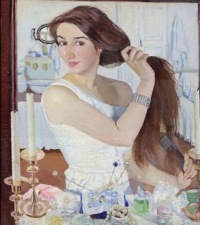 Zinaida Serebriakova , Russian-French woman painter. Joyful realist