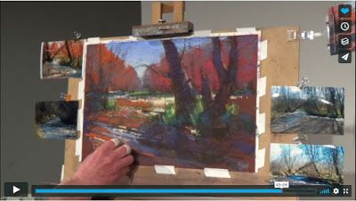 Pastel Demonstration for Pastel Society of New Mexico