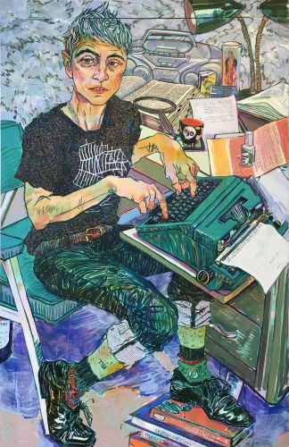 Expressive Color-Filled Portraits of Friends and Family by Hope Gangloff