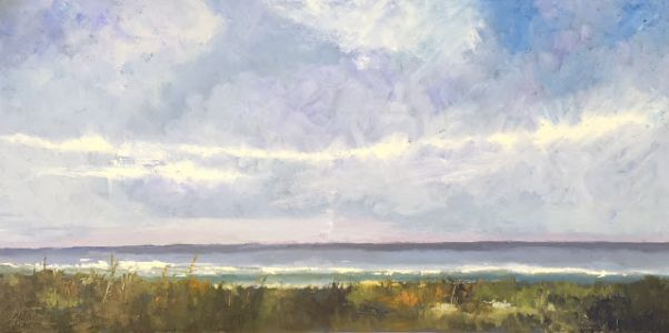 "Seascape, ""Beach Day 7,"" by Amy Whitehouse"
