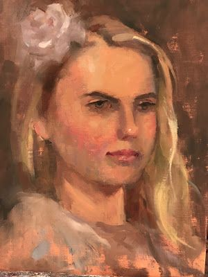 Reworking A Portrait