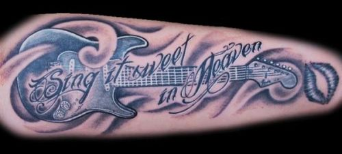 Awesome 27 Music Tattoo Designs