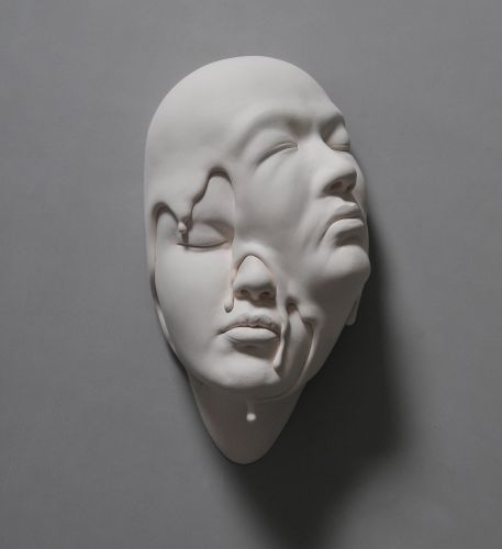 Dream Worlds Imagined in Contorted Clay Portraits by Johnson Tsang