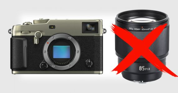 Viltrox Warns that Some of Its Lenses Can Damage the Fuji X-Pro3
