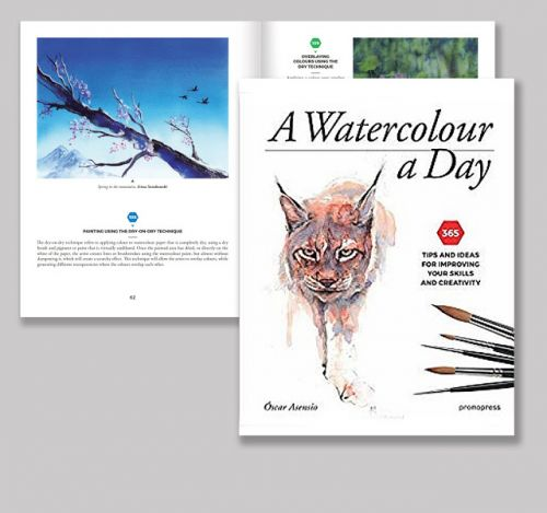 New Book Of Watercolor Techniques