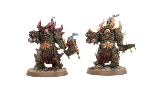 Showcase: Death Guard Blightlord Terminators