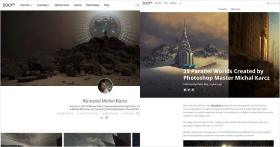 500px Threatens to Ban Popular User it Once Hailed as a 'Photoshop Master'