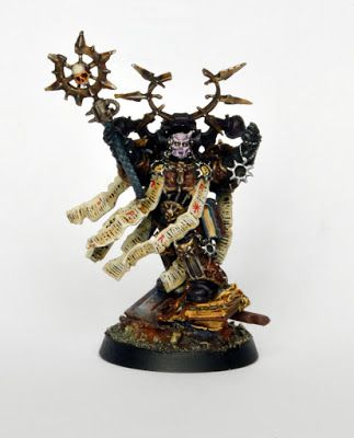 Showcase: Chaos Space Marines Dark Apostle