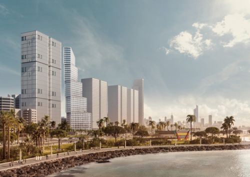 OMA / Iyad Alsaka and Reinier De Graaf Uncover Conceptual Design for their First Project in Kuwait