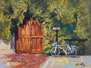 "New ""Going to Class"" from Oxford by Contemporary Impressionist Niki Gulley"