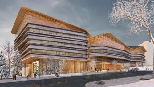 Diamond Schmitt Reveals Design for Ottawa Public Library and Archives Joint Facility
