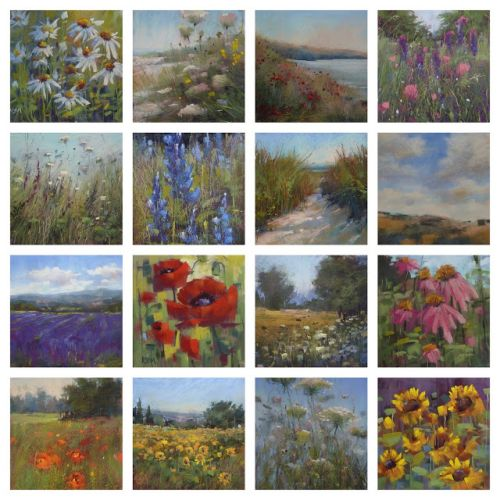 Great News! My Terry Ludwig Floral Landscape Pastel Set Is Here!