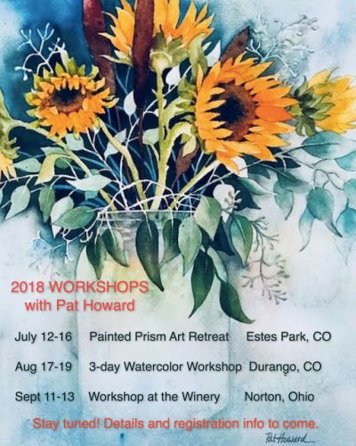 2018 WORKSHOP SCHEDULE