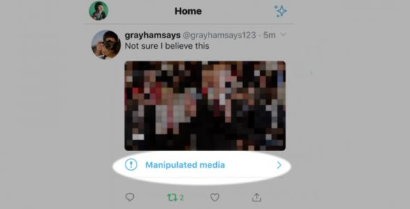 Twitter to Start Labelling 'Deceptively Altered' Photos and Video