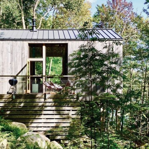 Remote Lake Cabin / Stonorov Workshop