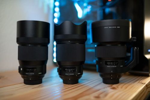 Sigma 'Bokeh Master' 105mm f/1.4 Art vs. the 85mm f/1.4 and 135mm f/1.8