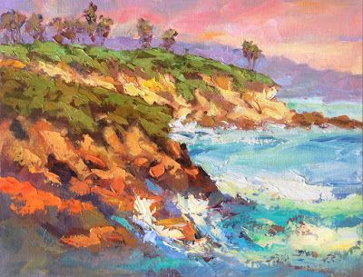 12x16 COASTAL LANDSCAPE by TOM BROWN