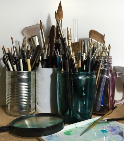 Which Brush? Spotters and Miniatures