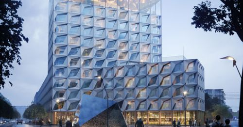 "Liljewall Arkitekter's ""Fabric"" Hotel is Inspired by Västerport's Sailing History"