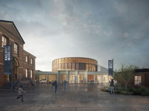 Feilden Fowles Wins the National Railway Museum Central Hall Competition