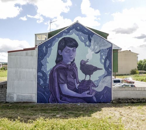 """""""A Stolen Childhood"""" by Lidia Cao in Carballo, Spain"""