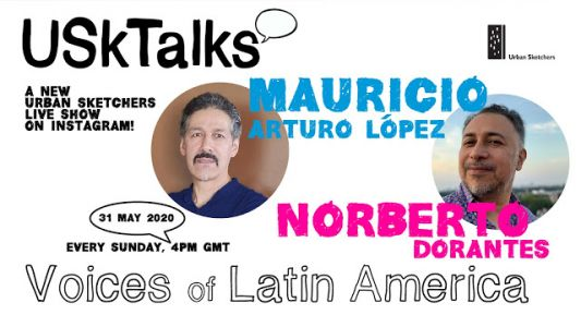 Next USk Talk, May 31st: Voices of Latin America