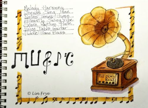 Sketchbook Journal - Music
