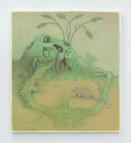 The inner self: Clayton Schiff's quirky canvases