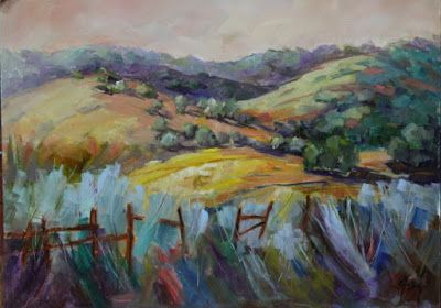 """Contemporary Colorado Landscape Painting, Mountains, Fine Art Oil Painting """"Day After Day"""" by Colorado Contemporary Fine Artist Jody Ahrens"""