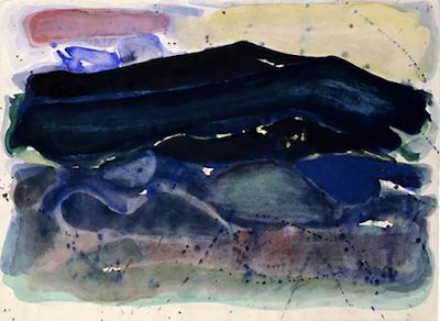 Sam Francis. Born on this day in 1923