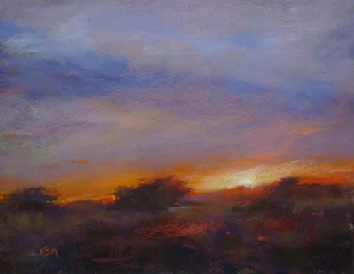 Tips for Painting Magical Sunsets