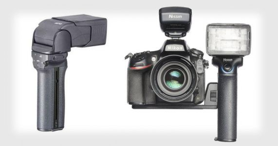 Nissin's New MG10 Flash Comes with a Versatile Hand Grip