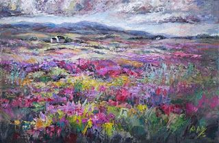 "New ""Tranquility Imagined"" of Scottish Heather by Niki Gulley"