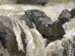 """""""Rock and Water Study"""""""
