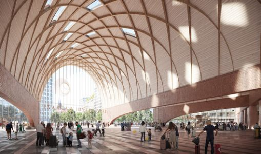 Benthem Crouwel + West 8 Win Competition for New Brno Main Station