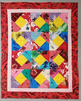 Baby quilts 4 - why I love stripes