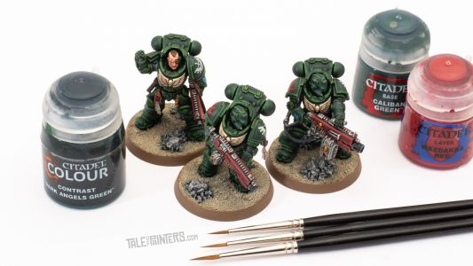 Tutorial: How to paint Dark Angels