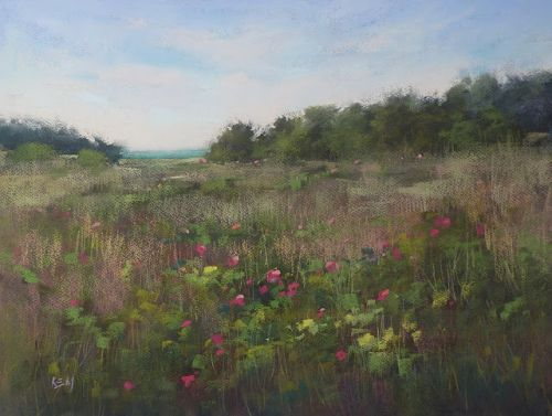 Planning and Executing a Wildflower Painting