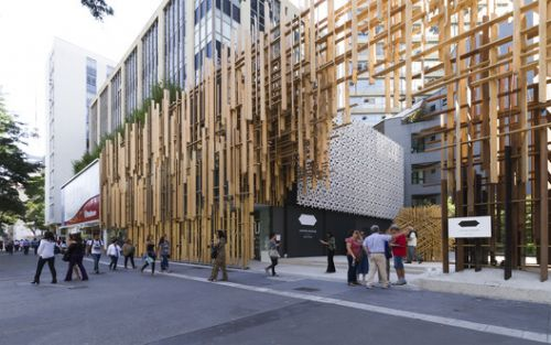 Kengo Kuma and FGMF's Japan House Sao Paulo Through the Lens of FLAGRANTE