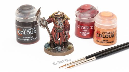 Tutorial: How to paint Kosargi Nightguard from Warhammer Quest Cursed City