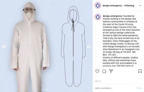 Paola Antonelli and Alice Rawsthorn's Instagram Live Series Examines COVID-19 Designs