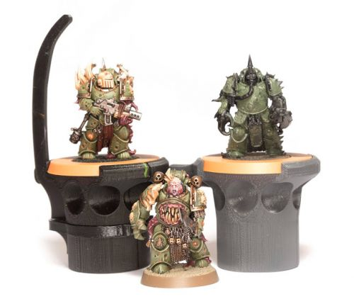 WIP: Deathguard Chaos Space Marines