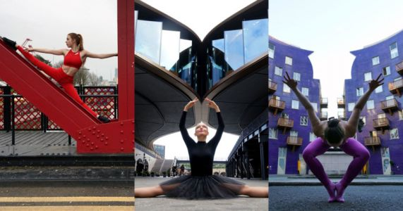 Photos of Dancers Blending Into London Architecture