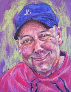 Gord's Pastel Portrait, by Kim Blair